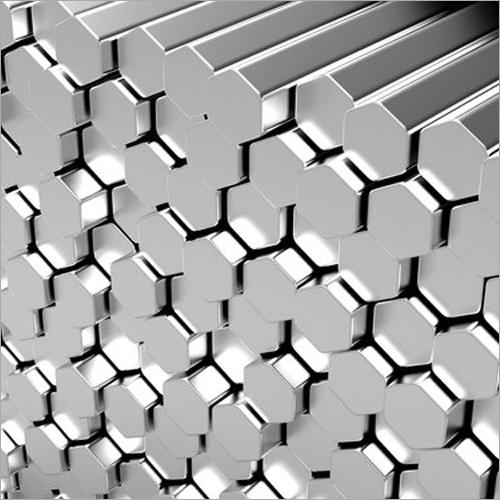 MS Hexagonal Bright Bar