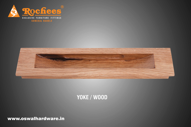 Wood Conceal Handle