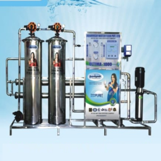 Stainless Still Body Industrial Water Purifiers