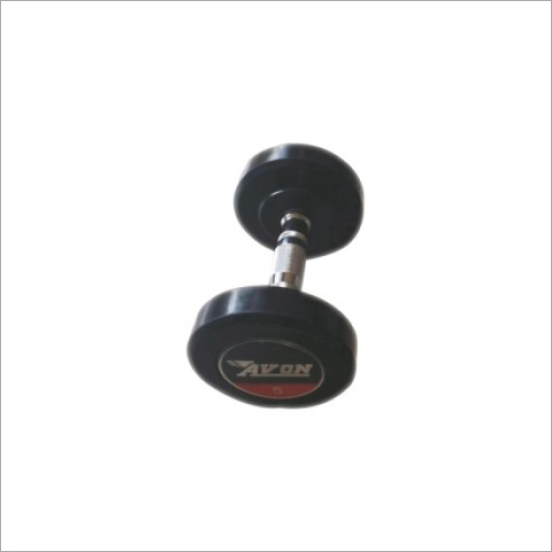 Rubber Coated Solid Dumbbell