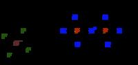 1,1,1,3,3,3-Hexakis(dimethylamino)diphosphazenium tetrafluoroborate,  CAS Number: 137334-98-6, 5g
