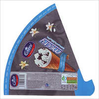 Ice Cream Packaging Aluminium Foil Lid