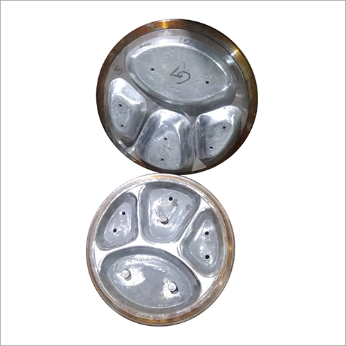 4 Compartment Disposable Paper Plate Die
