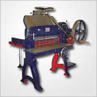 Sample Model Paper Cutting Machine