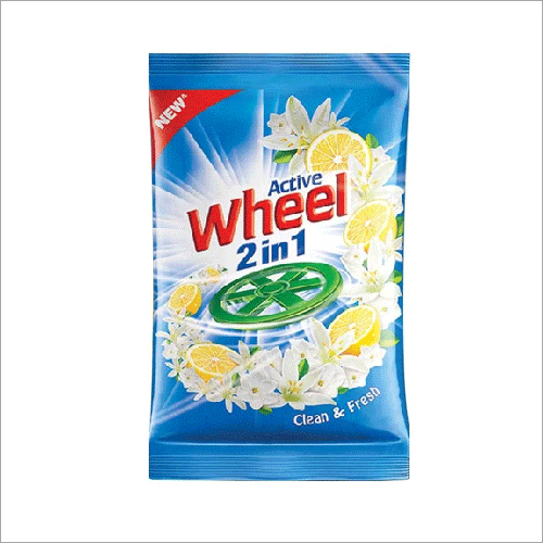 400 gm Active Wheel 2 in 1 Detergent Powder