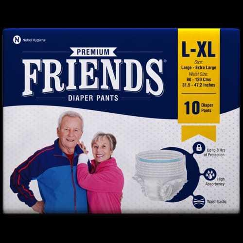 FRIENDS L-XL-10