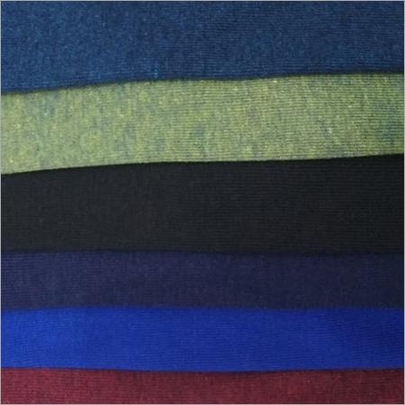 Polyester Cotton Rib Knit Fabric