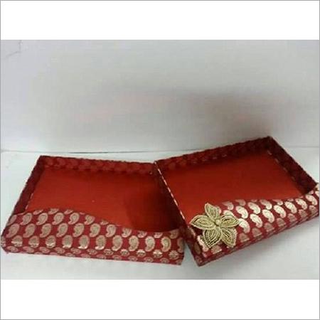 Printed Saree Packaging Tray