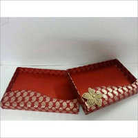 Printed Saree Packaging Tray