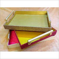 Fancy Saree Packaging Tray