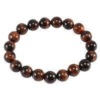 Jaipur Rajasthan India 10mm Round Red Tiger Eye Stretchable Bracelet Handmade Jewelry Manufacturer