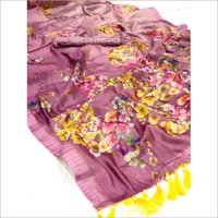 PRINTED SAREES RAINBOW WEAVES