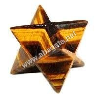 Tiger Eye Markaba Star