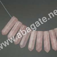 Rose Quartz Pencil Point