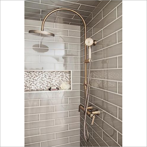 Brass Coated Bathroom Shower