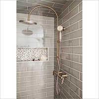 Brass Coated Bathroom Shower
