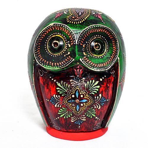 Home Decorative Owl Coin Box