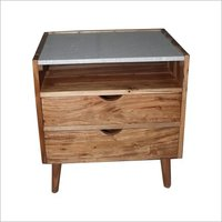 Marble Top Bedside Table, Night stand, Coffee Table, Side Table.