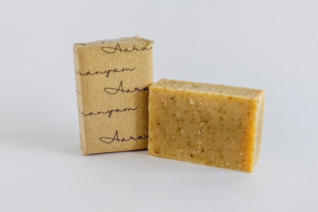 Hand Made Organic Shampoo Soap