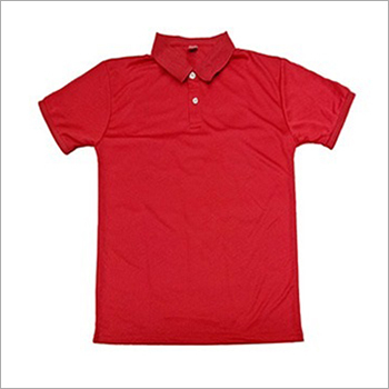 Mens Half Sleeves Collar T-Shirt