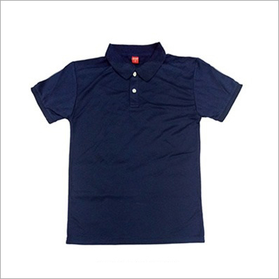 Mens Half Sleeve Polo Neck T-Shirt