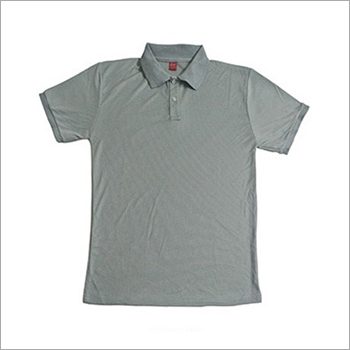 Mens Cotton Polo Collar T-Shirt