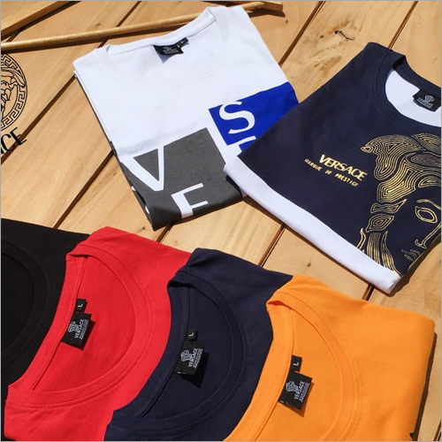 Mens Printed Round Neck T-Shirt
