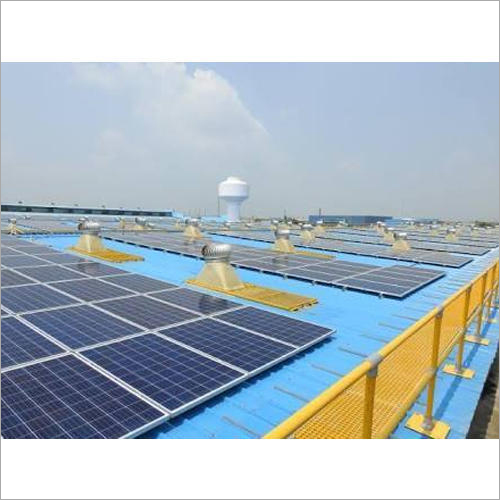 Commercial Solar Plant Installation Service
