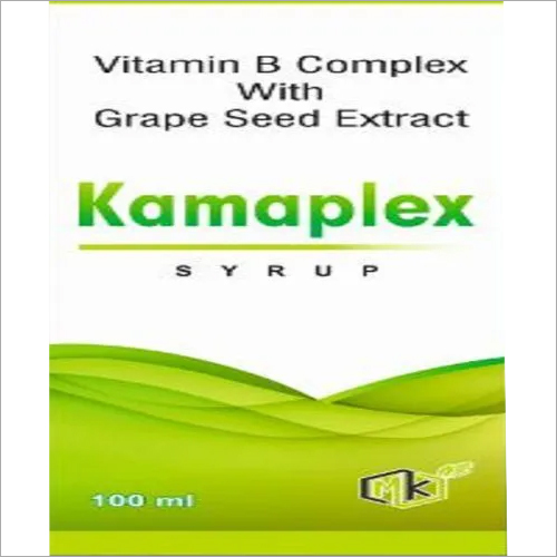 Vitamin B Complex Syrup with Grape Seed Extract