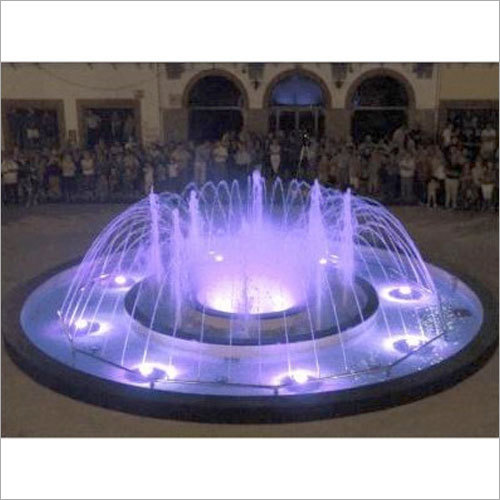 Outdoor LED Water Fountain