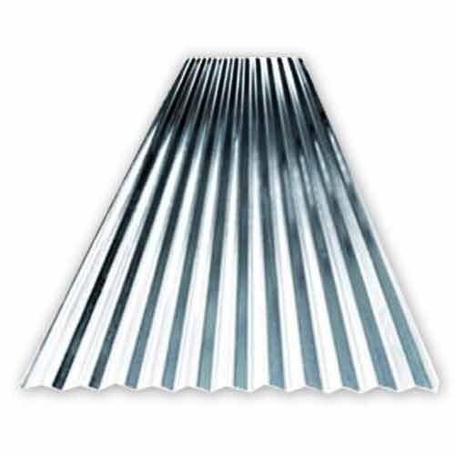 Silver Aluminum Corrugated Sheets
