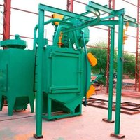 Close Loop Hanger Shot Blasting Machine