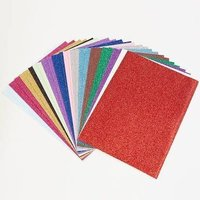 Adhesive Back Glitter / Craft Sheet