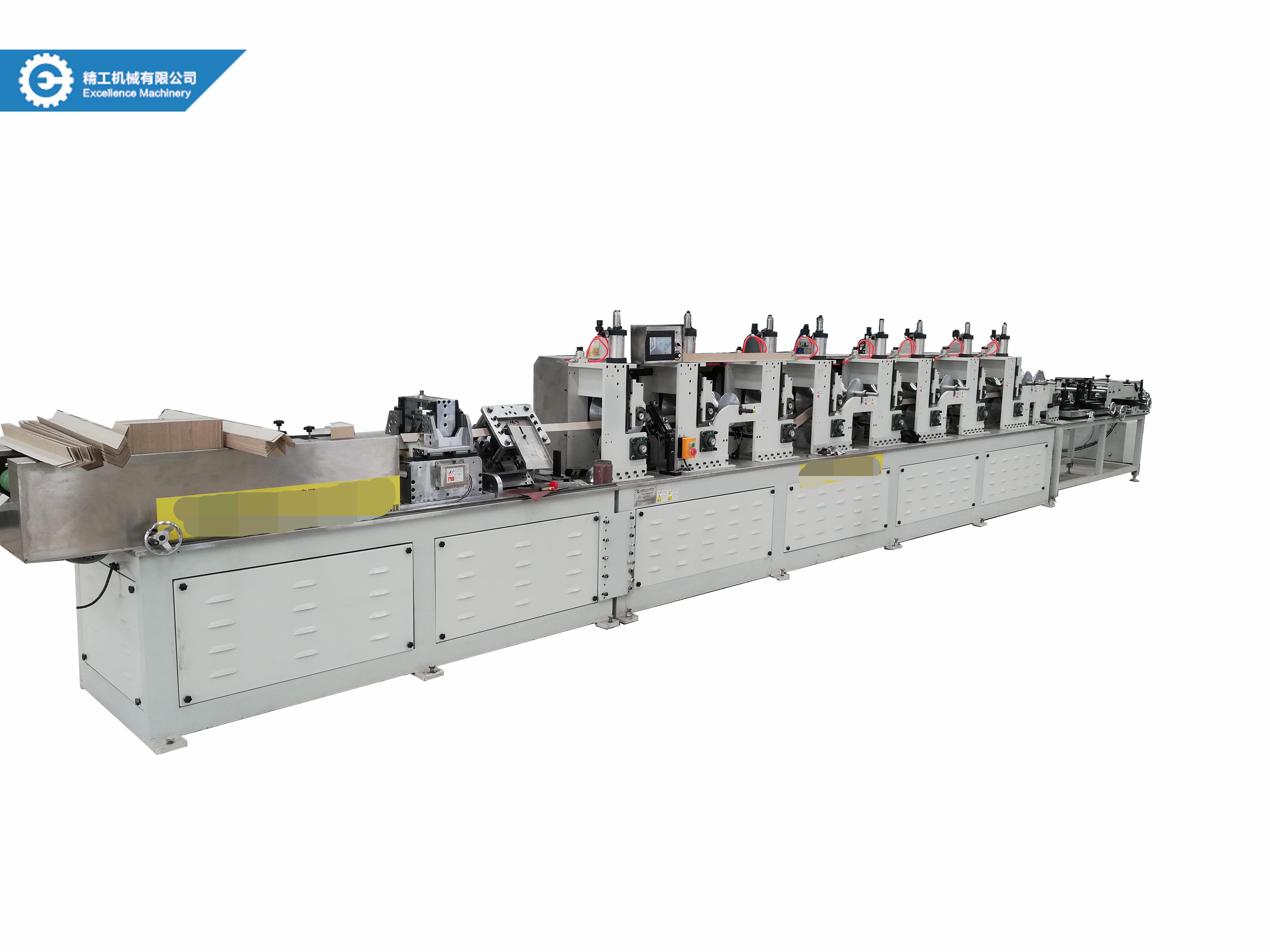 CNC paper corner protector machine paper angle board machine