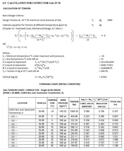 Engineering Design Calculations