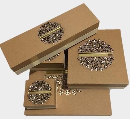 Antique Gold Jewellery Box Series