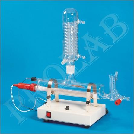 Horizontal Single Stage Quartz Distillation Unit