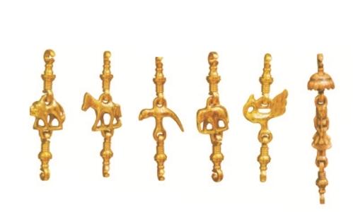 Brass Animal Set Jhula Chain