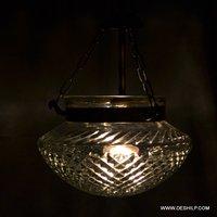 Cutting Glass Wall Hanging Lamp