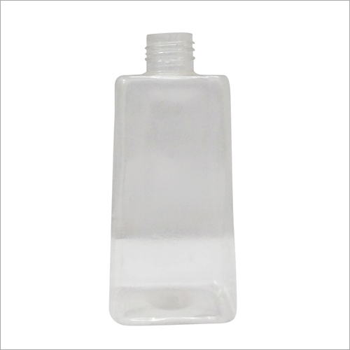 Transparent Plastic Cosmetic Bottle