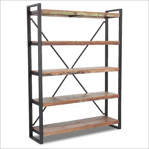 5 Tier Wooden Bookshelf
