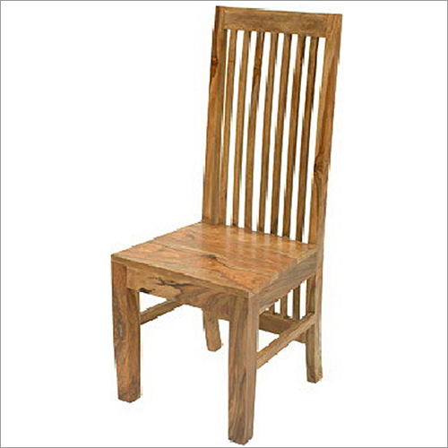 Wooden Chair Without Armrest