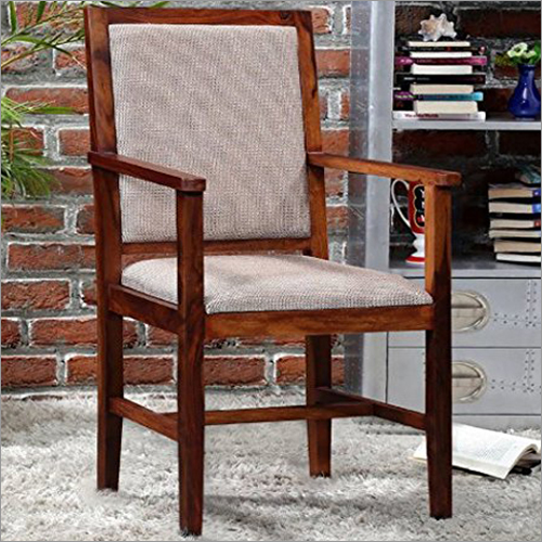 Wooden Chair With Armrest