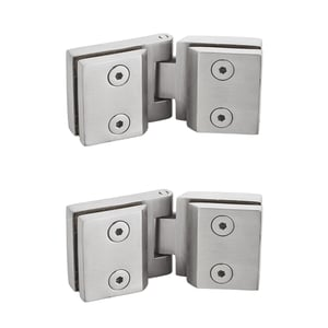 Brass Glass To Glass Hinges