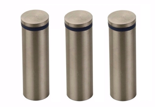 Stainless Steel Glass Stud Solid