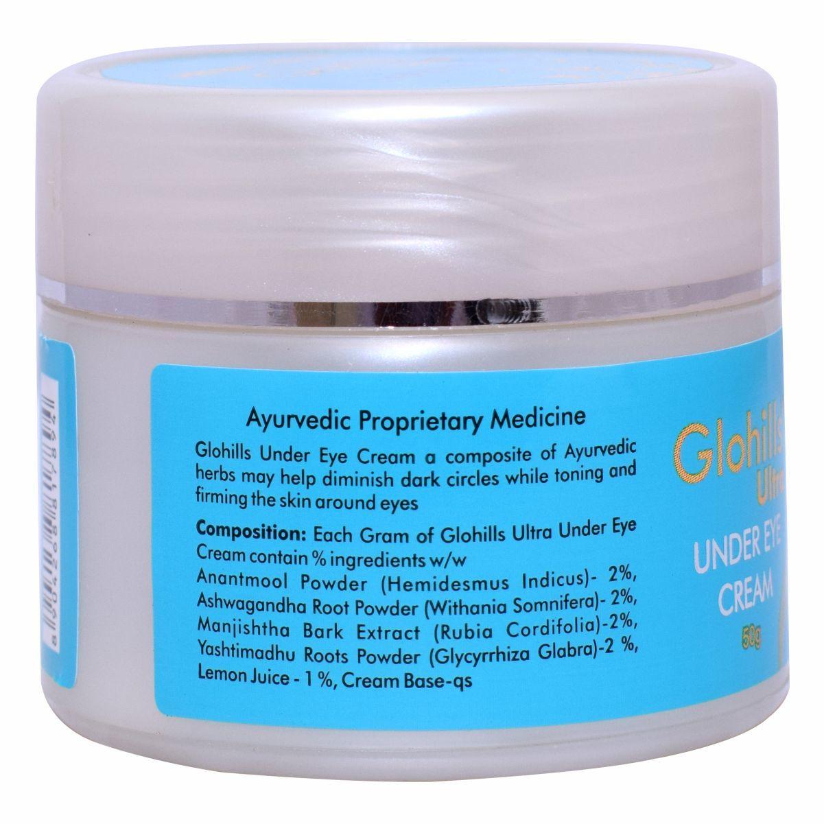 Herbal Skin Care Cosmetics - Glohills Under eye cream