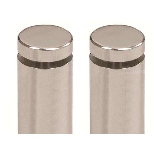 Stainless Steel Glass Stud Holo