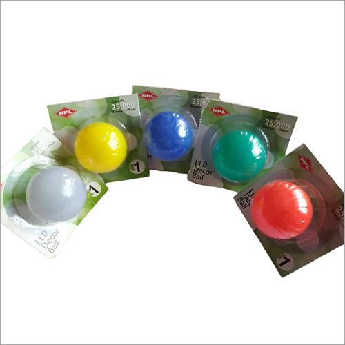 LED Decor Colored Ball Light