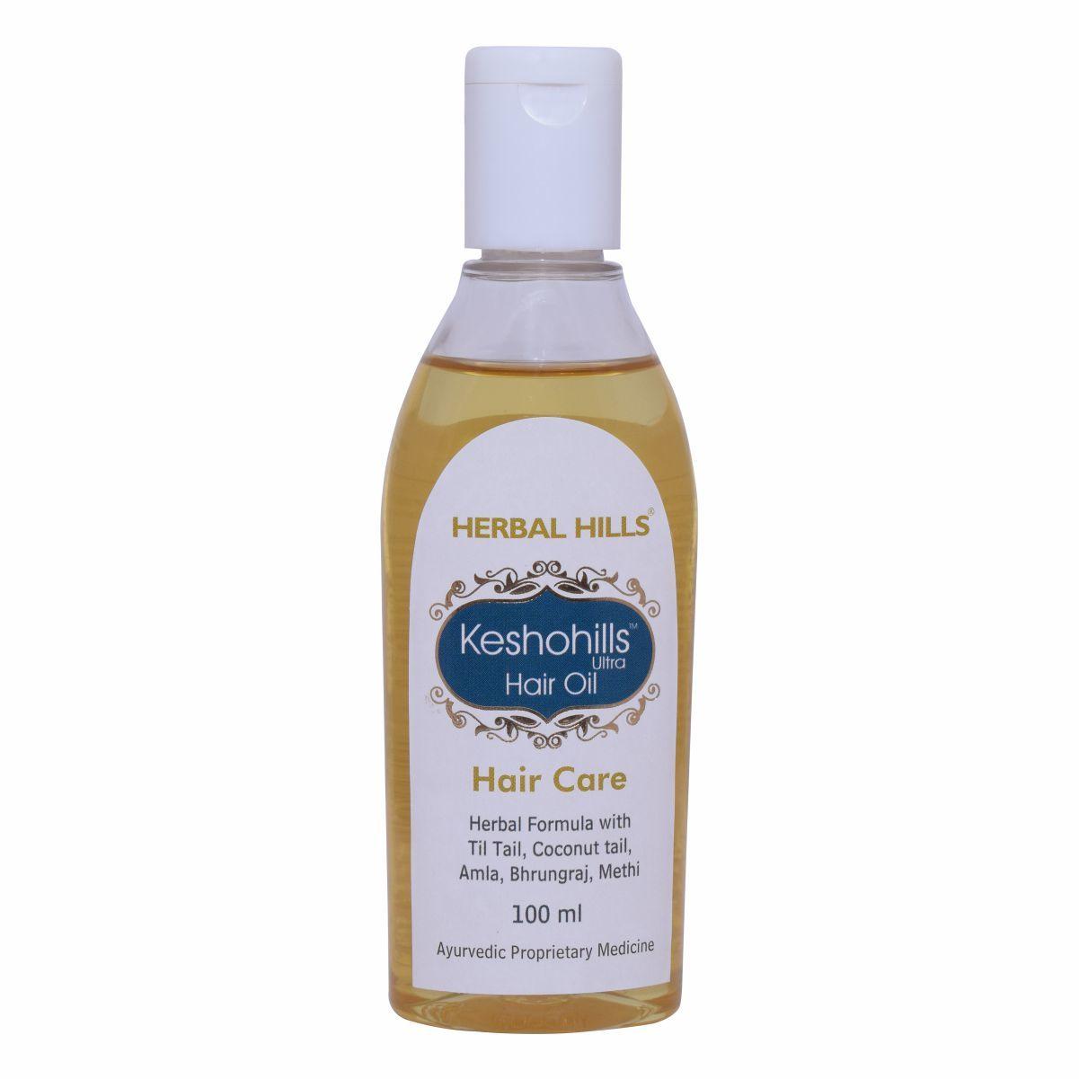Herbal Hair growth oil - Keshohills Hair oil 100ml