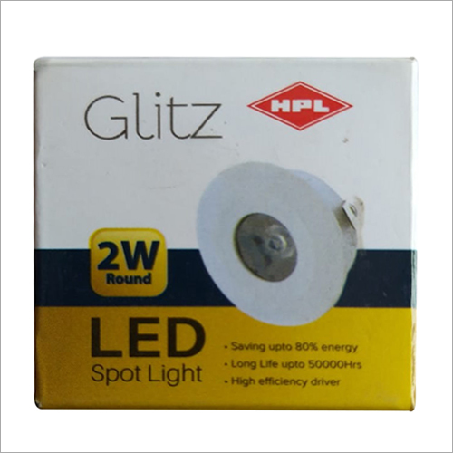 2 Watt LED Spotlight